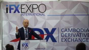 Cambodian Derivatives Exchange attends iFX Expo 2018 in Cyprus