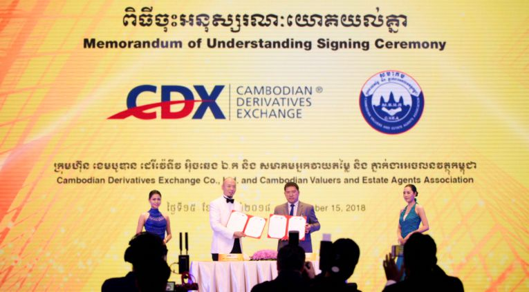 Ground-breaking MOU Between CDX and CVEA Marks Another Chapter of Investment Furtherance in Cambodia
