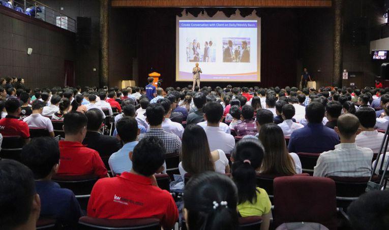 CDX Participates in Keller Williams Cambodia's Seminar