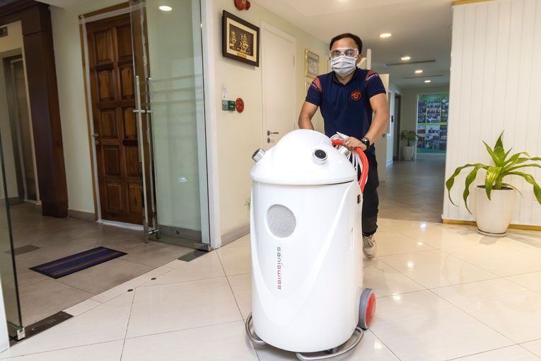 Cambodian Derivatives Exchange Utilises Sanitation Service To Ensure Employees' and Client's Safety