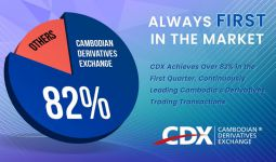 CDX Achieves Over 82% in the First Quarter, Continuously Leading Cambodia's Derivatives Trading Transactions