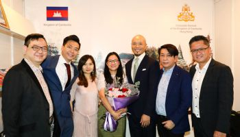 CDX Management Meets and Holds Conversation with Consul General of Cambodia In Hong Kong