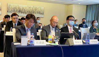柬埔寨衍生商品交易所(CDX)参加北京大学的信用与法律研究所成立十周年